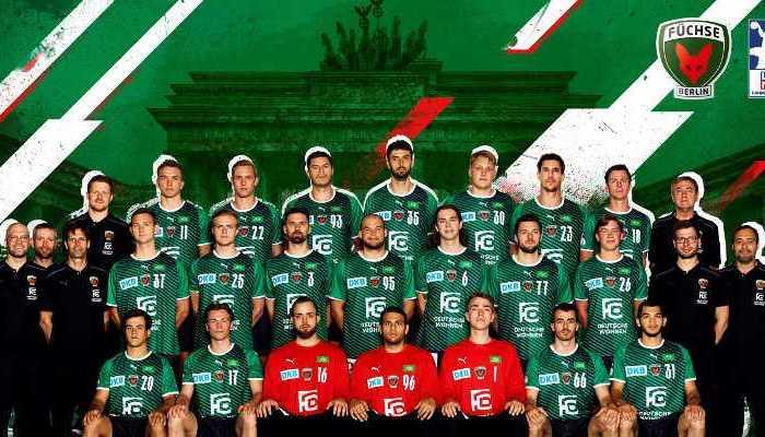 Füchse Berlin - Handball Bundesliga Saison 2021-2022 - Copyright: Füchse Berlin