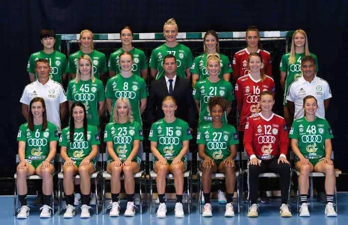 Györi Audi ETO KC - Handball Ungarn und EHF Champions League Saison 2021-2022 - Copyright: Györi Audi ETO KC