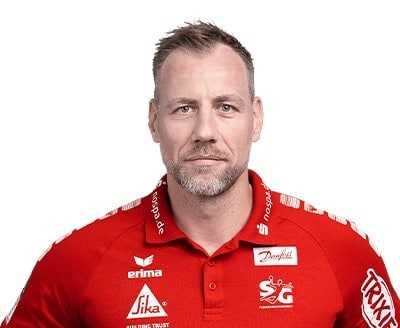 Maik Machulla - SG Flensburg-Handewitt - Handball Bundesliga und EHF Champions League Saison 2021-2022 - Copyright: SG Flensburg-Handewitt