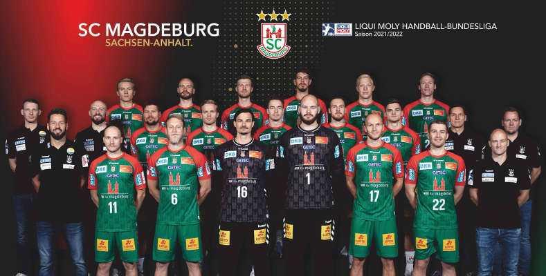 SC Magdeburg - Handball Bundesliga und EHF European League Saison 2021-2022 - Copyright: SC Magdeburg