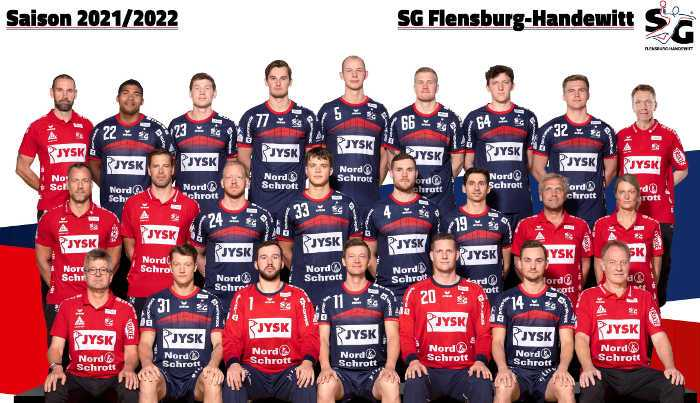 SG Flensburg-Handewitt - Handball Bundesliga und EHF Champions League Saison 2021-2022 - Copyright: SG Flensburg-Handewitt