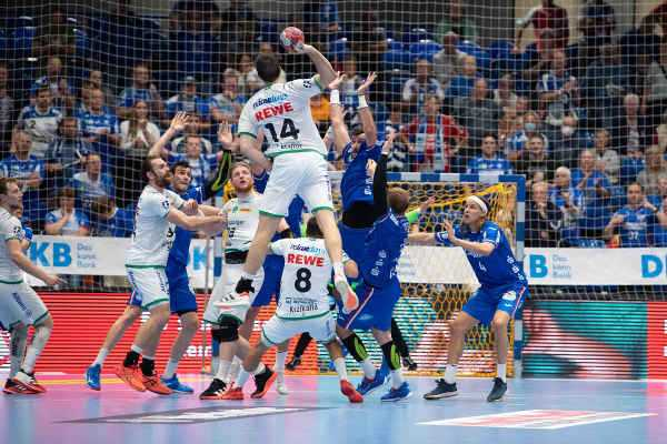 TBV Lemgo Lippe vs. SC DHfK Leipzig - Handball Bundesliga am 16.09.2021 - Foto: Klaus Trotter