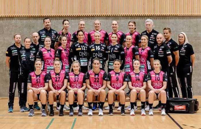 Vipers Kristiansand - Handball Norwegen und EHF Champions League Saison 2021-2022 - Copyright: Vipers Kristiansand