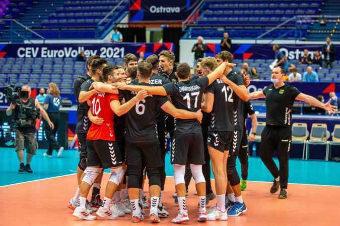 Volleyball EM 2021 - Deutschland - Nationalmannschaft Männer - Copyright: Imago (über SPORT1)