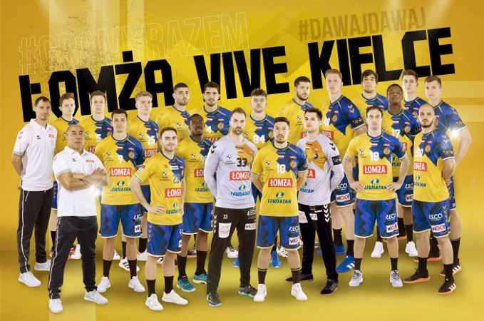 Vive Kielce - Handball Polen und EHF Champions League Saison 2021-2022 - Copyright: Vive Kielce
