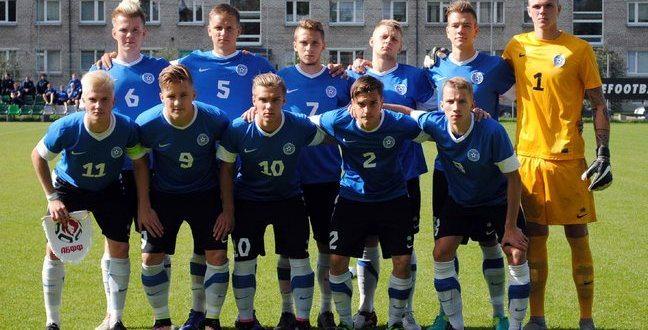 Сборная Эстонии U-19