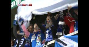 Эстонские болельщики ликуют! 4:0!