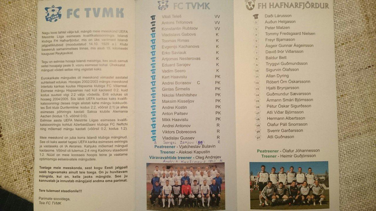 TVMK - Hafnarfjordur