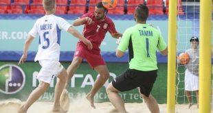 Сборная Эстонии по пляжному футболу начала подготовку к предстоящему сезону