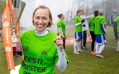 Анастассия Морковкина с чемпионским кубком