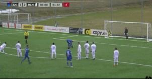 Решающий пенальти. Автор:soccernet.ee