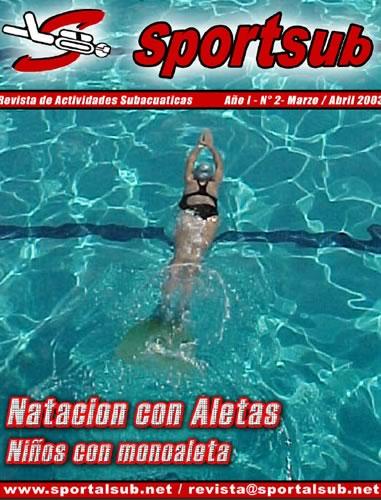 revista2 Revista Digital Sportsub Número 2 / Marzo Abril 2003