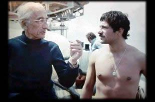Jacques Y. Cousteau y Henry García