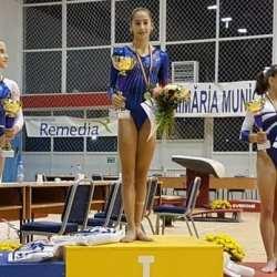 """Arădeanca Olivia Cîmpian, printre gimnastele ce reprezintă România la """"europenele"""" de la Cluj"""
