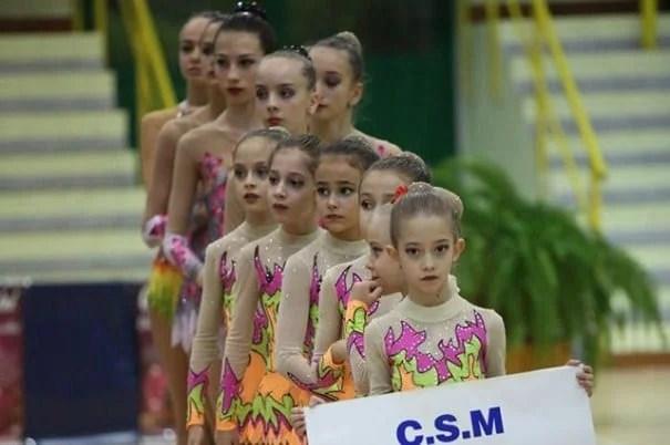 Cupa Rotary le-a surâs gimnastelor de la CSM Arad