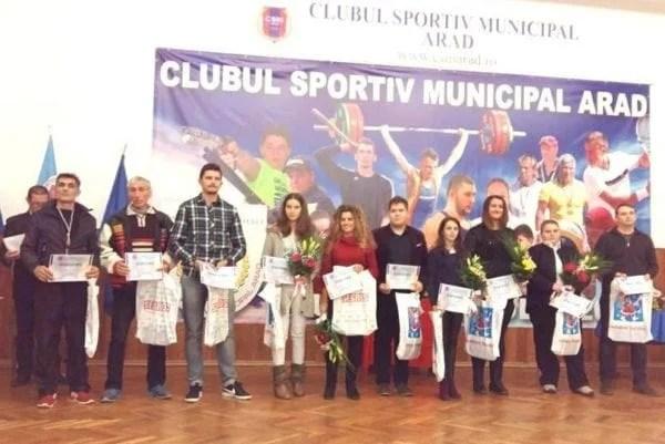 Superlativele anului 2016 la CSM Arad – premiate într-un cadru festiv