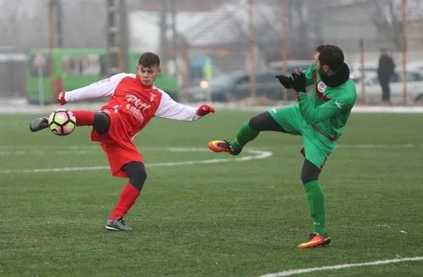 Suslak a semnat revenirea divizionarei a treia: UTA - Lunca Teuz Cermei  2-2