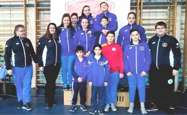 Jodoka CSM-ului au strâns 14 medalii  peste Dunăre