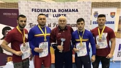 """Photo of Zece medalii pentru luptătorii Astrei la """"naționalele"""" de seniori, de la Lugoj"""