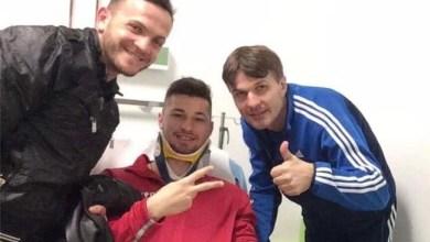 Photo of Ambulanța a ajuns la antrenamentul Crișului: Juniorul Jichici s-a lovit la cap, dar are șanse să joace la Ineu