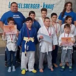 Judoka CSM-ului s-au remarcat la Sibiu și Lipova