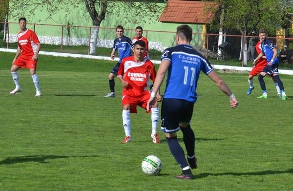 Au schimbat prefixul: Victoria Felnac – Crișul Chișineu Criș  1-3