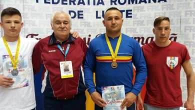 Photo of Gligor, Petrovici și Popa, medalii la naționalele de juniori de lupte greco-romane