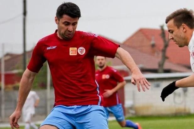 Lovit la cap în meciul Glogovăț- UTA III, Tănasă a trecut cu bine peste intervenția chirurgicală suferită la Timișoara