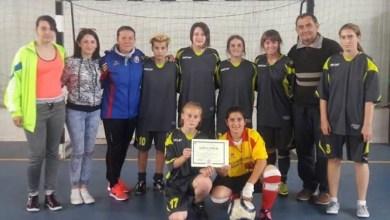 """Photo of """"Fotbalistele Liceului Tehnologic """"Sava Brancovici"""" Ineu, pe trei la """"zona"""" de la Turnu Severin"""