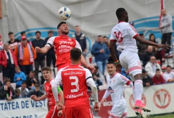 Liga a II-a, etapa a 33-a: Golul lui Issa nu i-a ajuns lui Sepsi la Târgoviște, UTA rămâne pe locul 2!
