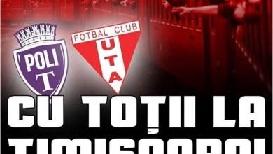 Photo of Bilete la Poli – UTA, de mâine și la Arad