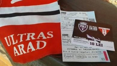Photo of Primul calup de bilete la derby-ul Vestului – aproape epuizat, alte 500 de bilete sosesc mâine la Arad