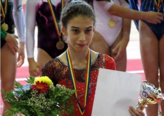 Gimnasta Iulia Berar, aproape de Olimpiada tineretului