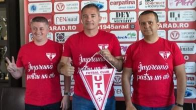 """Photo of Campioana Provinciei revine la matcă și ca denumire: """"Suntem FC UTA Arad, din punct de vedere juridic lupta a luat sfârșit. Poate fi săptămâna mare a fotbalului arădean"""""""