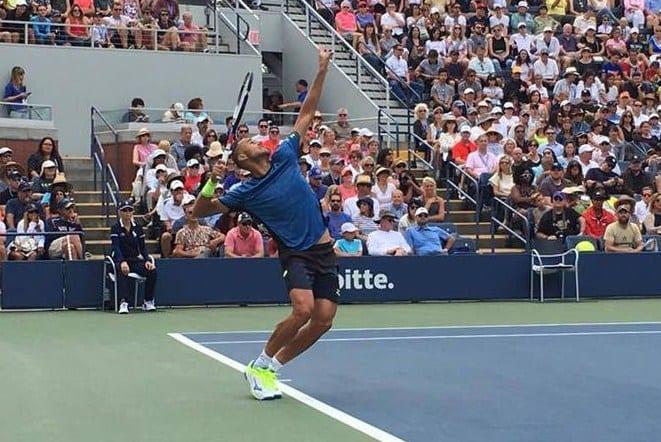 Marius Copil rămâne cu bucuria debutului pe tabloul principal la US Open, Tsonga l-a învins în trei seturi!
