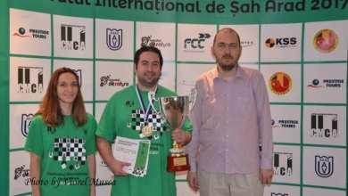Photo of Valori respectate la Festivalul Internațional de Șah de la Arad: Ucraieanul Zubov l-a devansat pe Istrătescu