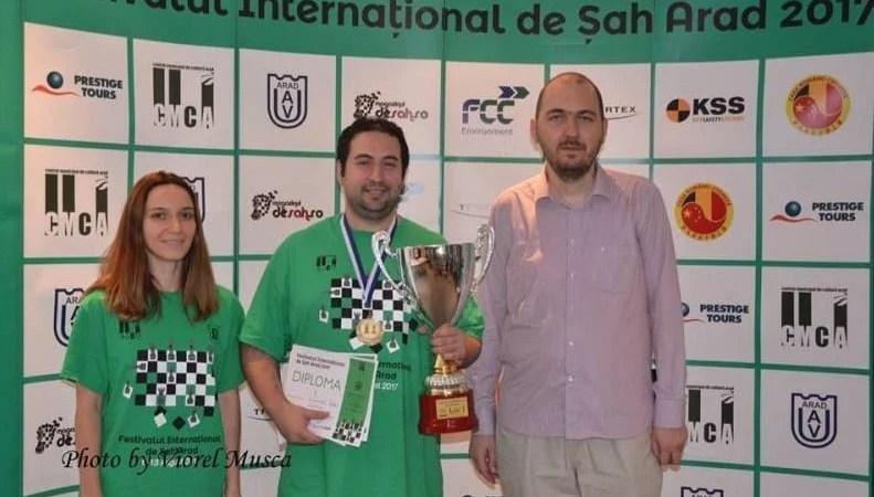Valori respectate la Festivalul Internațional de Șah de la Arad: Ucraieanul Zubov l-a devansat pe Istrătescu
