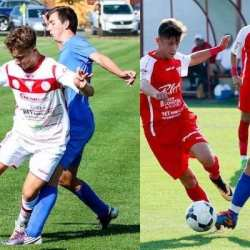 """Alte victorii la scor pentru juniorii """"Bătrânei Doamne"""" în fața echipelor Unirii Alba Iulia"""