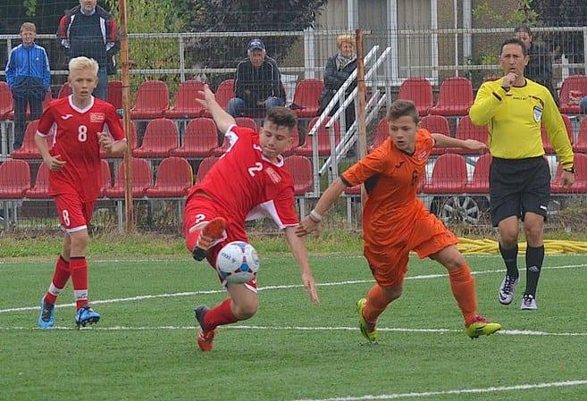 Timișul, răpusă la scor de Selecționata Under 14 a Aradului