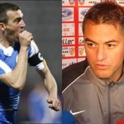 """Todea și Dulca se gratulează reciproc înainte de UTA - Luceafărul! """"Foarte bine cu el pe bancă"""" v.s. """"Un fotbalist bun, echilibrat, știam că va deveni antrenor"""""""