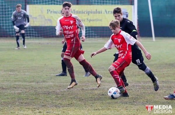Calificare en-fanfare în sferturile Cupei: UTA Under 17 – CSȘ Drobeta Turnu Severin 9-0