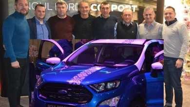 Photo of Utiștii, lângă partenerii de la Ford în seara lansării noului model EcoSport