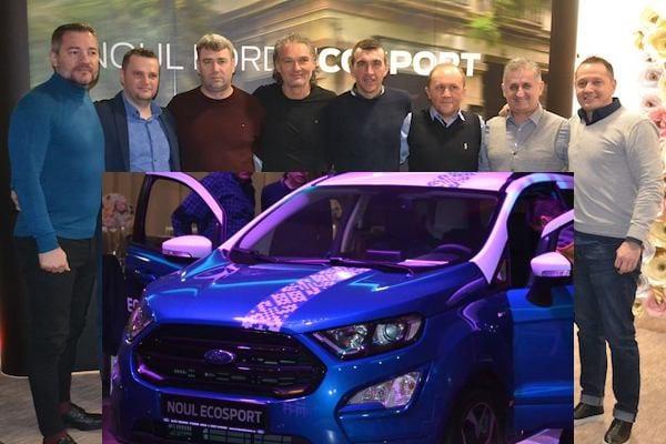 Utiștii, lângă partenerii de la Ford în seara lansării noului model EcoSport