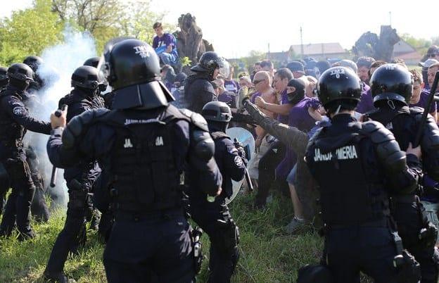 Jandarmii din Timișoara iau măsuri la UTA – U Cluj, deși riscul incidentelor pare scăzut după ultimele evenimente
