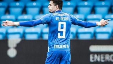 """Photo of """"Hattrick"""" pentru Adi Petre în tricoul lui Esbjerg"""