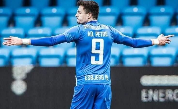 Gol decisiv pentru Adi Petre în Cupa Danemarcei
