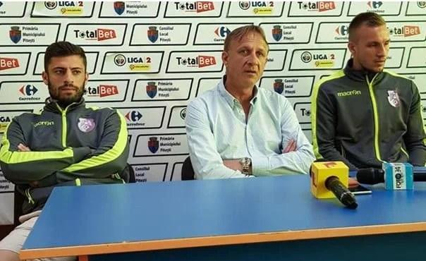 """Piteștenii, interesați de o despărțire frumoasă de proprii fani odată cu vizita UTA-ei și de locul 4: """"Întâlnim o echipă de mare tradiție, e foarte importantă ultima impresie"""""""