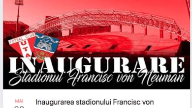 """Photo of Utiștii – la """"sărbătoarea"""" inaugurării stadionului """"Francisc Neuman"""":  """"Veniți cu chef de cântat!"""""""
