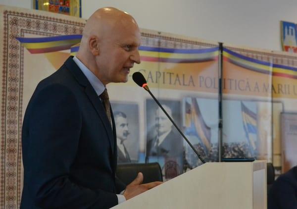 """Lucaci, la câștigarea unui nou mandat de președinte AJF: """"Am aceeași pasiune, ard pentru fotbal și am noroc de conducători foarte buni"""""""