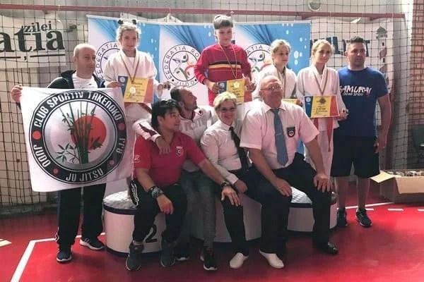 """Ghiorocanele Szabo și Abuzătoaie – aur la """"naționalele"""" Under 13 la judo, un bronz și pentru Unirea Sântana"""